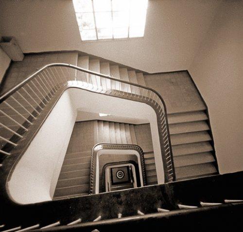 pinhole stairs